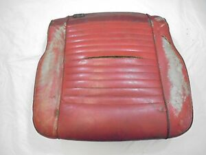 1967 Mustang Deluxe Front Bucket Seat Bottom Lower Passenger
