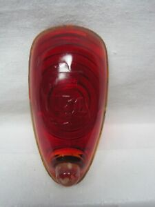 Red Pora Glass Taillight Lens