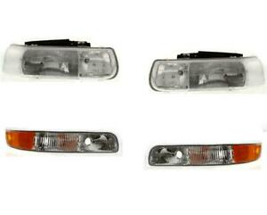Headlights For Chevy Silverado 1999 2002 Tahoe 00 06 With Turn Signal Lights