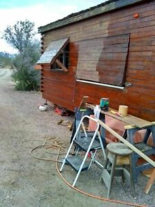 Super Unique 2013 9 X 24 Homemade Wooden Log Food Cabin Concession Trailer For