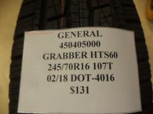 General Grabber Hts60 245 70 16 107t Brand New Tire 450405000 Q8