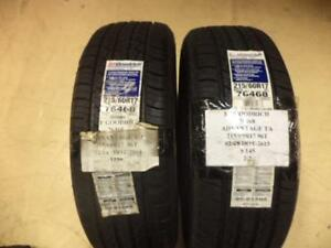 2 New Bf Goodrich Advantage T a 215 60 17 96t Tires 76468