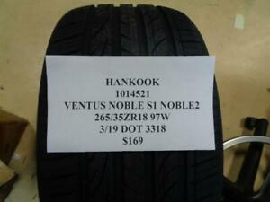 1 New Hankook Ventus Noble S1 Noble 2 265 35 18 97w Tire Wo Label 1014521 Q9