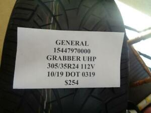 1 New General Grabber Uhp 305 35 24 112v Tire Wo Label 15447970000 Q9