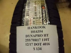 2 New Hankook Dynapro Ht 255 70 17 110t Tires 1014354 Q9