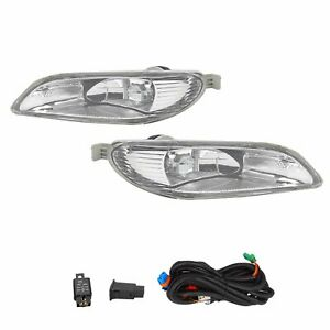 For 2005 2008 Toyota Corolla 2002 2004 Camry Bumper Fog Lights Switch Wiring Kit