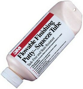 Flowable Finishing Putty 05824 24 0 Oz Squeeze Tube 3m 5824 Brand New