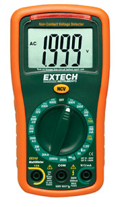 Extech Ex310 9 Function Mini Multimeter Non contact Voltage Detector