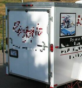 Used 2005 6 X 12 Mobile Boutique Trailer Retail Clothing Trailer For Sale In