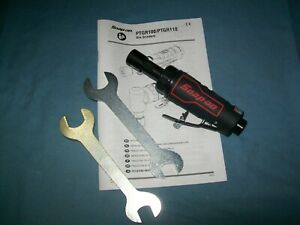 New Snap On Ptgr100 1 4 Collet Mini Straight Die Grinder In Open Box