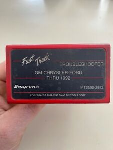 Snap On Mt2500 2992 Gm Ford Chrysler Thru 1992 Troubleshooting Cartridge