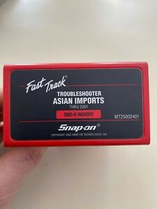 Snap On Mt25002401 Scanner Cartridge Troubleshooter Asian Imports Thru 2001