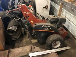 2014 Ditch Witch 100sx With Preferred Honda Engine