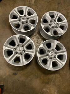 4 New Takeoff Toyota 4runner Tacoma 17 Factory Oem Silver Wheels Rims 75153
