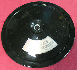 Air Cleaner Lid 13 25 Black Top For Gm Oem Open Air Filter Cowl Induction Used