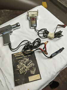 Kal L 10 Vintage Timing Light With Tach And Manual