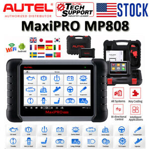 Autel Maxipro Mp808 Auto Diagnostic Tool Wifi Obd Ii Scanner Tablet Code Reader