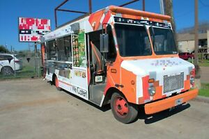 2004 Workhorse P4500 24 Stepvan Catering Truck And Kitchen Food Truck For Sale