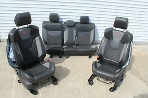 2015 2016 2017 2018 Ford Focus St St2 Recaro Sport Bucket Seats Leather Cloth