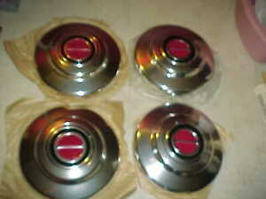 Nos Mint Vintage Ford Ranger Truck Bronco Ii 7 1 2 Dog Dish Hubcaps Set Of 4
