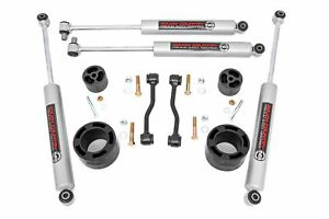 Rough Country 2 5 Leveling Kit fits 2020 Jeep Gladiator Jt 4 N3 Shocks