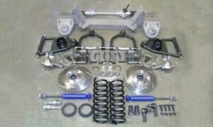 1937 1938 1939 Chevy Truck Mustang Ii Front Suspension Kit Manual Stock Slotted
