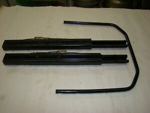 82 94 Alfa Romeo Spider Seat Track With Front Adjustment Handle