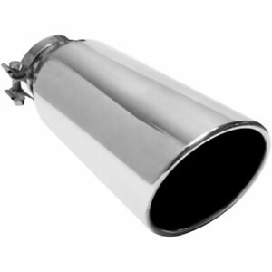 Magnaflow 35213 Stainless Steel Single Exhaust Tip 3 5 Inlet 5 Outlet New