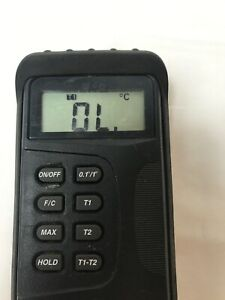 K Type Digital Thermometer Unbranded Tested Battery Not Included