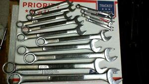Classic Craftsman Vv series 14pc Sae Combination Wrench Set 1 4 To 1 Made In Usa