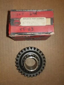 Nors 1955 63 Chevrolet Corvette Chevy Ii 3 Speed Transmission 26t 2nd Speed Gear