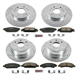 Powerstop K6560 Performance Racing Brake Kit Oem Without Calipers For 14 19 Gmc