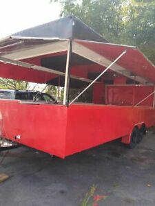 Ready For Conversion 2002 Food Concession Trailer empty Food Trailer For Sale In