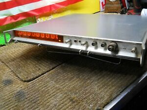 Estate Nixie Tube Systron Donner Frequency Meter Model 6316a Rack Mnt