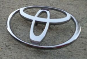 Toyota T 3 5 Trunk Emblem Badge Decal Logo Camry Corolla Oem Factory Genuine
