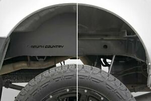 Rough Country Rear Wheel Well Liners Fits 2005 2020 Nissan Frontier Crew Cab
