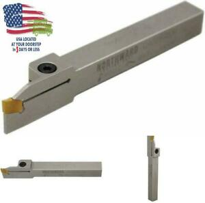 Tool Holder Shank 1 2 Indexable Lathe Grooving Cut Off Heavy Duty Nickel Plated