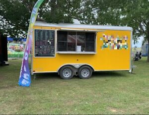 Turnkey 2018 Cargo Craft 8 5 X 16 Shaved Ice Concession Trailer For Sale In Ok