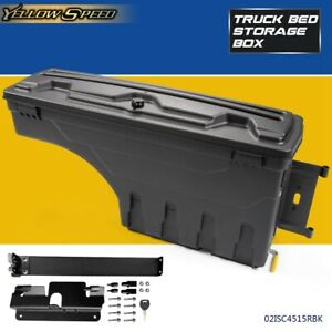 Rear Right Truck Bed Storage Box Toolbox For 2007 18 Chevy Silverado Gmc Sierra
