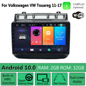 Android 10 0 Car Stereo Radio Player Gps Navigation For Volkswagen Vw Touareg