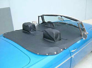 1971 80 Mgb Roadster Tonneau Cover With Headrest Pockets And Flaps Robbins