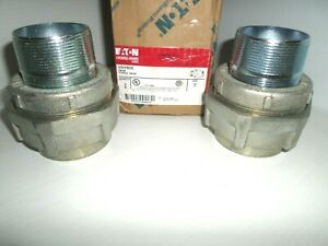 new Box Of 2 Eaton Crouse Hinds Uny605 2 Explosion Proof Union