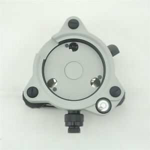 New Gray Three jaw Tribrach With Optical Plummet For Total Stations