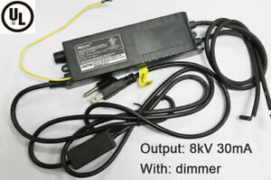 Ul Neon Electronic Transformer With Dimmer 8kv Adjust Rectifier Power Supply