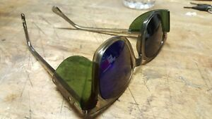 A o Welding Glasses Cobalt Lens green Shieldslast Pair