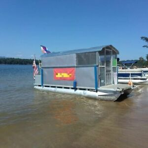 Ready To Work All Purpose Food Boat used Floating Restaurant For Sale In North C