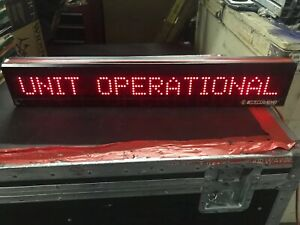 Led Programmable Scrolling Sign Vintage