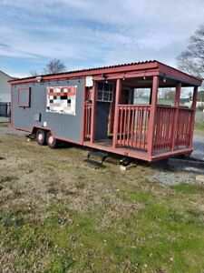 Well equipped 2018 Food Concession Trailer With A Nice Porch For Sale In Virgini
