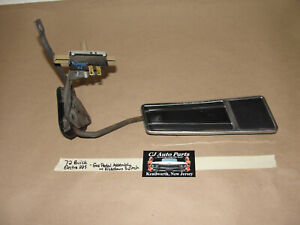 Oem 72 Buick Electra 225 Gas Pedal Pad Linkages Assembly With Kickdown Switch