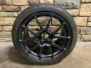 Corvette C7 Z06 Zr1 Forgeline Ga1r Open Lug Wheel Tpms G Force Rival Tire 18x12